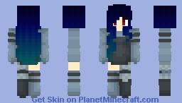 Blue moon 🌘 Minecraft Skin