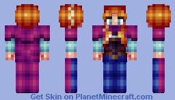 Anna (Frozen) Minecraft Skin