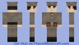 Imperal Russian Soldier WW1 Minecraft Skin