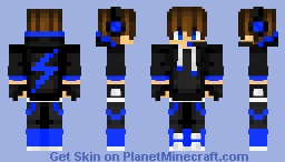 Cool Gaming Boy Minecraft Skin