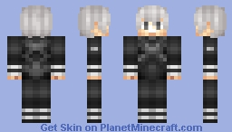 Root A Kaneki(Had to reupload this because some people thought it was ok to steal it >:l   ) Minecraft Skin
