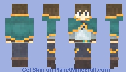Kazuma Satou (Konosuba) v1.2 Minecraft Skin