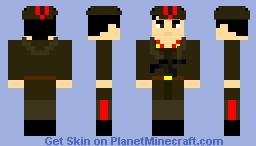 soviet red army    avtomatchik(version 2)     1941-1959            with    pps-42/43          submachine gun Minecraft Skin