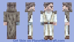 Old Luke Skywalker  | Star Wars The Last Jedi Minecraft Skin