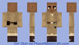 Mace Windu (Star Wars - Episode II/III) (1.8) Minecraft Skin