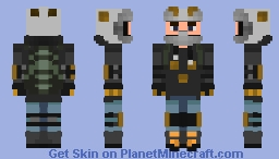 Motocross (No goggles) Minecraft Skin
