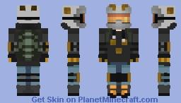 MotoCross Minecraft Skin