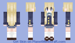 Mugi // k-on Minecraft Skin