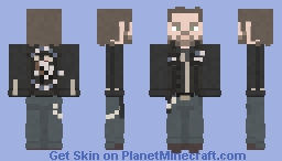 Opie / Harry Winston   Sons of Anarchy   Burnt and Purged Away Minecraft Skin