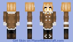 Pluto Chan Minecraft Skin