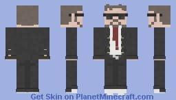 Man in suit Minecraft Skin