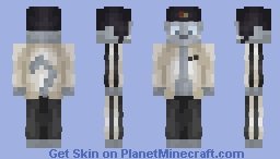 Here's the Russian Blue you ordered, sir. Minecraft Skin