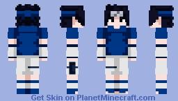 Sasuke Uchiha (Naruto) (100 Subs) Minecraft Skin