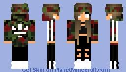 Camo Adidas Minecraft Skin