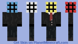 Sir Rubik's Cube Minecraft Skin