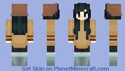 possessed wifey - nona - oxenfree Minecraft Skin