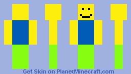 Roblox Poor Player Minecraft Skin