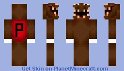 poopy butt Minecraft Skin