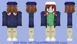 Dustin Minecraft Skin