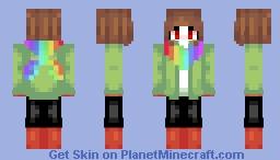 StorySwap Chara Minecraft Skin