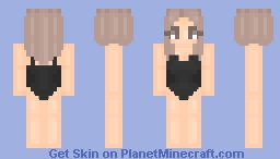 One Piece W/Long Bob & Extensions Minecraft Skin