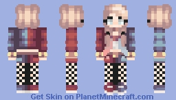 Harley Quinn (Credits to AquaticLove) Minecraft Skin