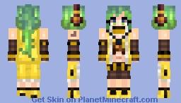 Vocaloid 2 - Sonika (E-Capsule Design) Minecraft Skin