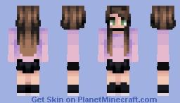 thank u, next Minecraft Skin