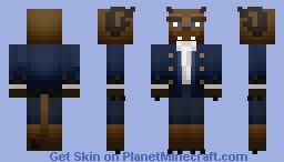 The Beast [2017 Beauty and the Beast] Minecraft Skin