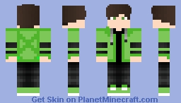 green guy Minecraft Skin