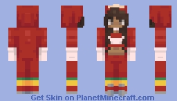 spit on the fake queen // ungandan knuckles Minecraft Skin