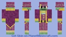 Halston Balestrom - Wizard 101 Minecraft Skin