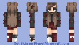 You're Looking Crazy, You're Looking Wrong, Looks Like We're Gonna Get Along~ // Skin Comp Entry Minecraft Skin