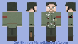 German Soldier / World War II Minecraft Skin