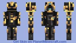 Excalibur Umbra frome Warframe Minecraft Skin