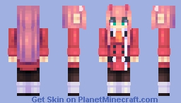 create and craft zero two in the franxx minecraft skin 1803