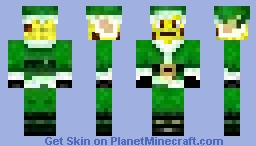 CheeseMasMan Minecraft Skin