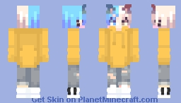 They say cats have 9 live😽💞 Minecraft Skin