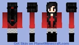 Demon Girl Minecraft Skin