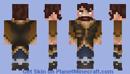 [LOTC] Commission for Wryn -Travelling Clothes Minecraft Skin