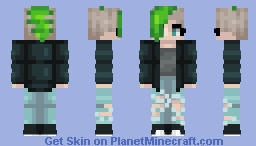 Lyric - Me and my dream look when I'm older Minecraft Skin