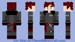 Adam Taurus RWBY [my version, even with out mask and differend hair] Minecraft Skin