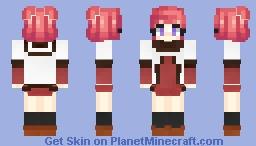 akari akaza - yuru yuri Minecraft Skin