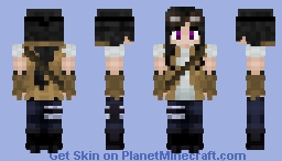 Steampunk Girl Thing Minecraft Skin