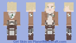 Annie Leonhart | Attack on Titan | Wall Minecraft Skin