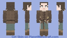 Arya Stark | Game of Thrones | The Spoils of War Minecraft Skin