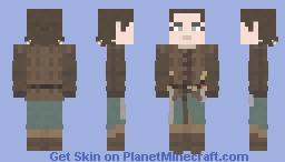 Arya Stark | Game of Thrones | The Spoils of War Minecraft Skin