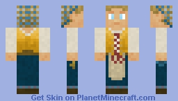 The Innkeeper Minecraft Skin