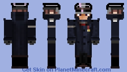 WW II Officer Minecraft