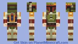 Boba Fett Minecraft